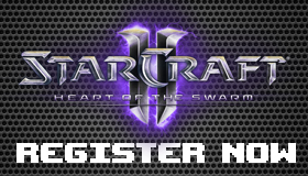 StarCraft II Registration